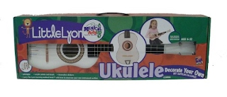 Little Lyon decorate it yourself Ukulele kit